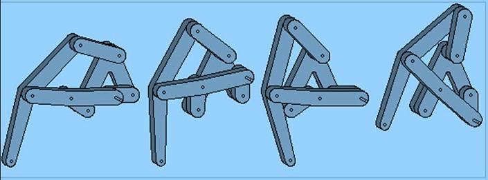 Design Movements Of Mechanical Spider Robots Mechanical